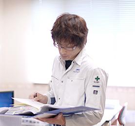 米田 孝俊 / 2001年入社