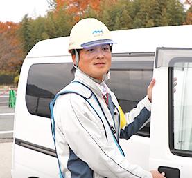 中尾 浩二 / 2011年入社